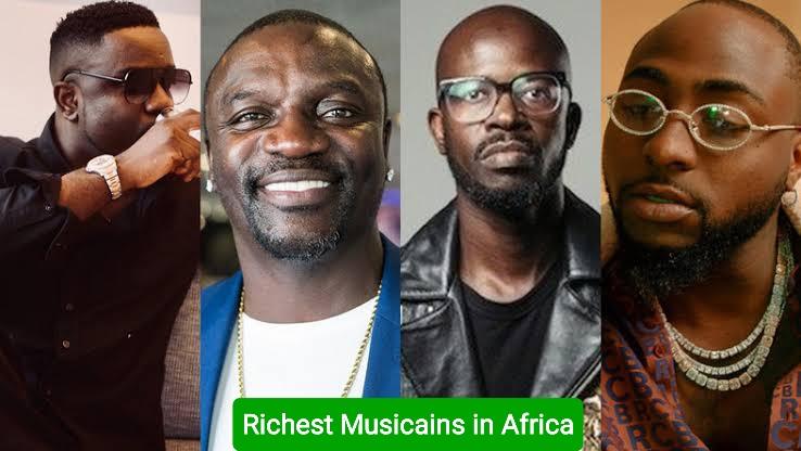 richest musicains in Africa